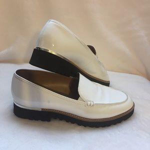 Franco Sarto White Cypress Loafers